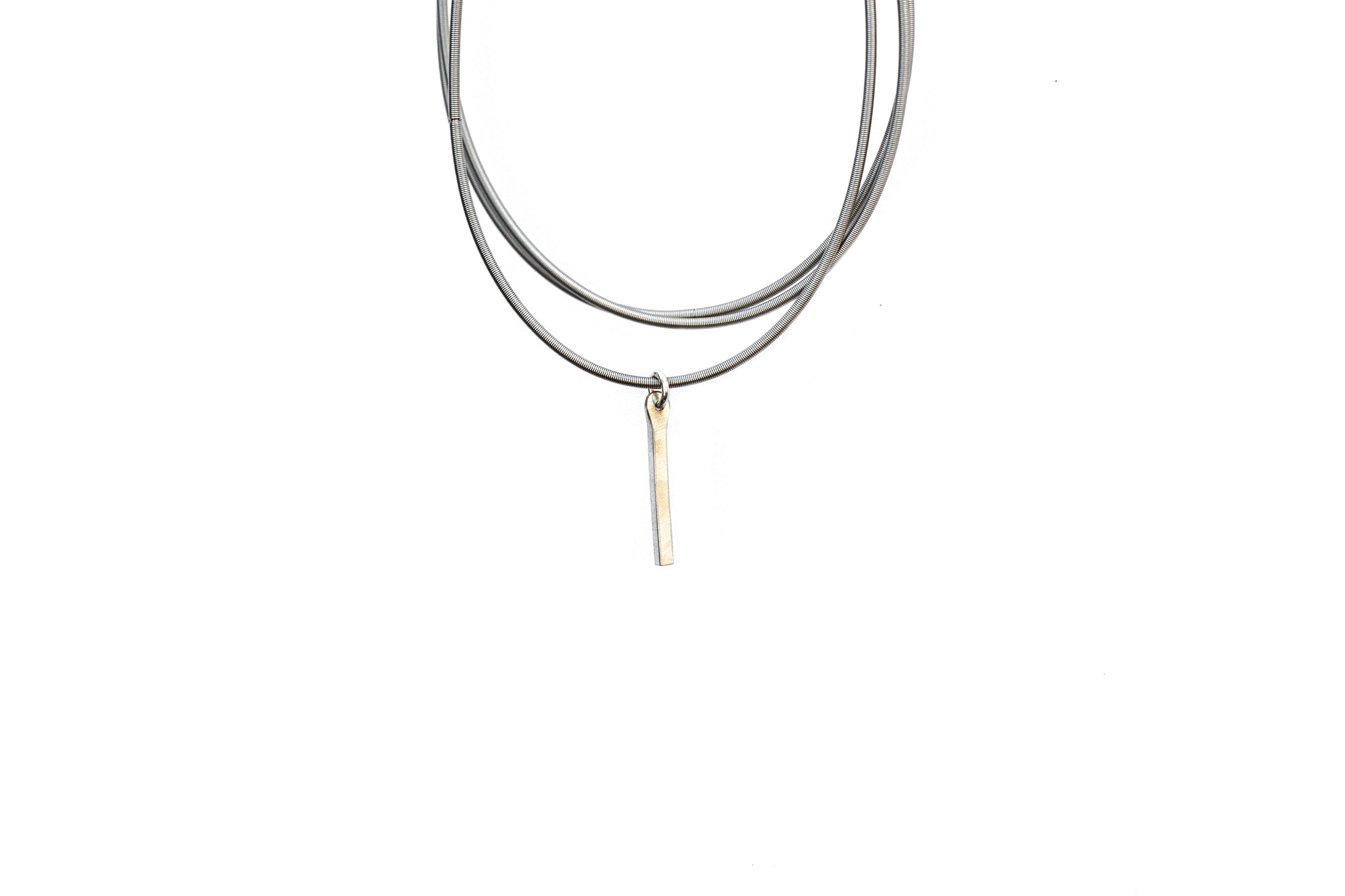 Luxe - Balance - Drop Bar Dia Charm