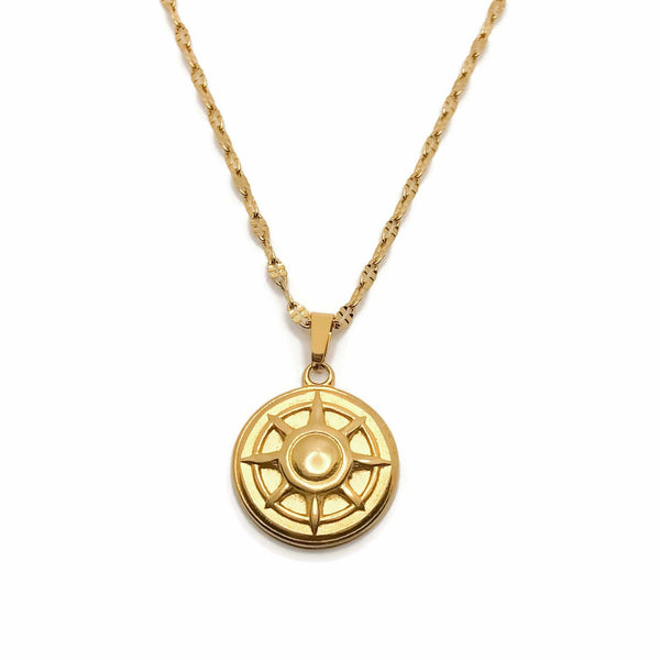 Delta Compass Necklace