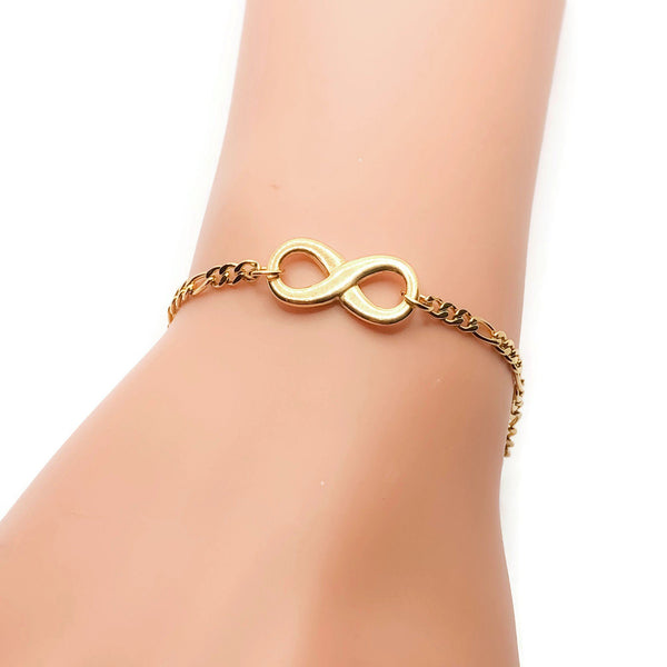 Isla Infinity Bracelet - Krave Jewelry Co - Bracelets Necklaces Earrings