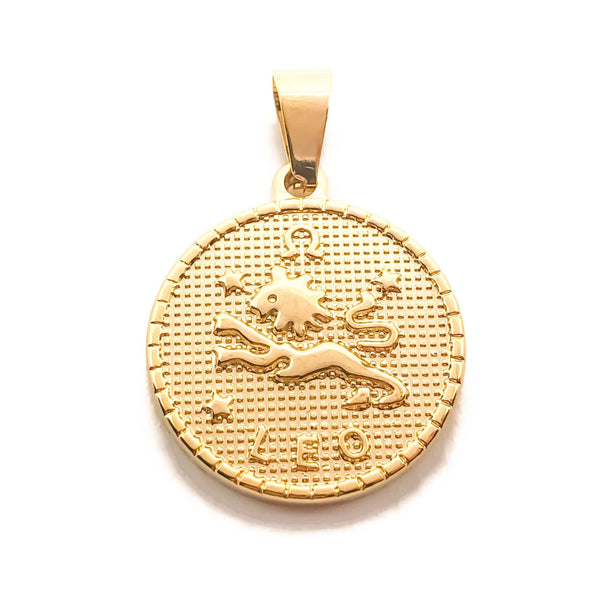 Zodiac Medallion Necklace