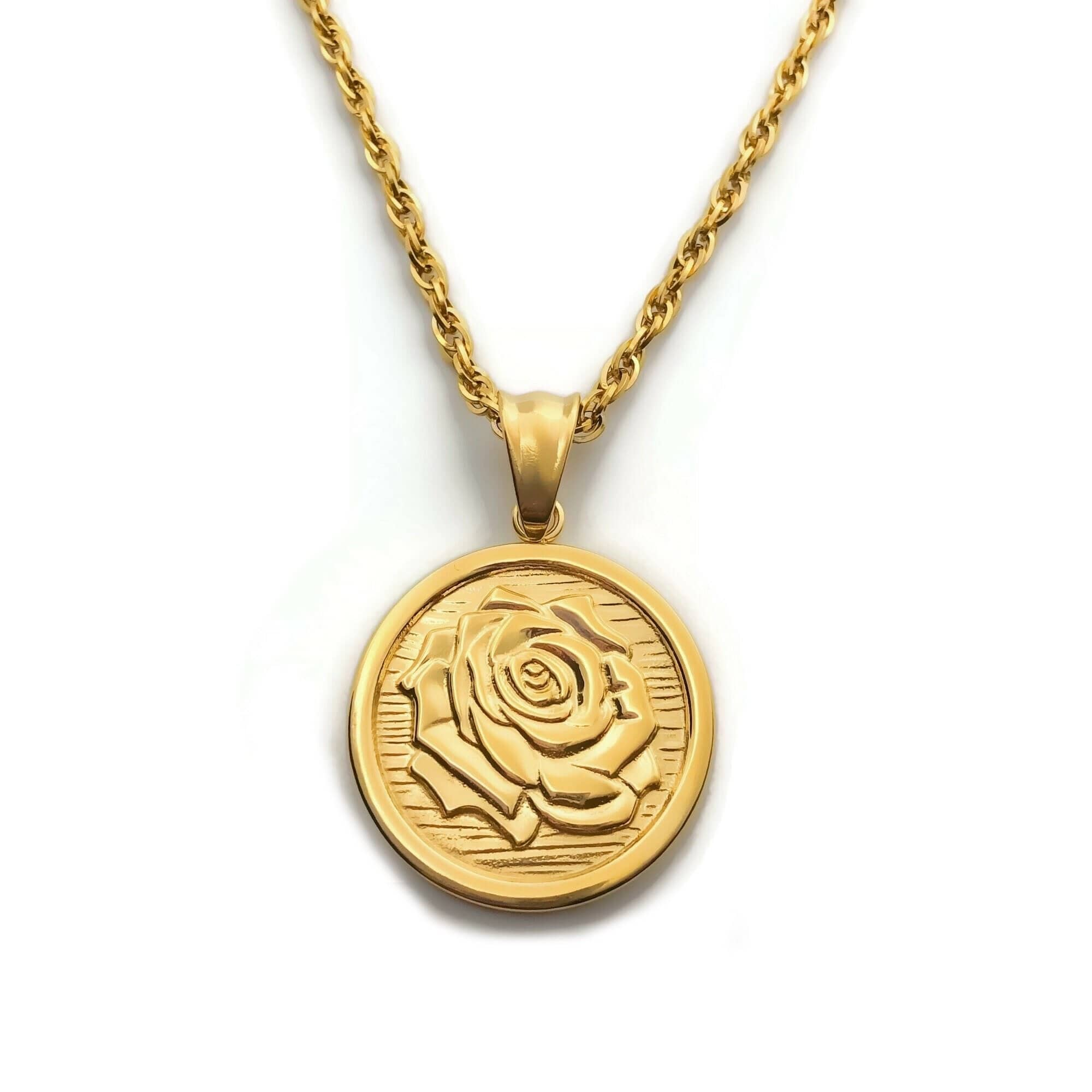 Rose Necklace (2 sides)