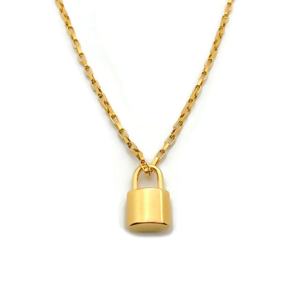 Lock On Necklace
