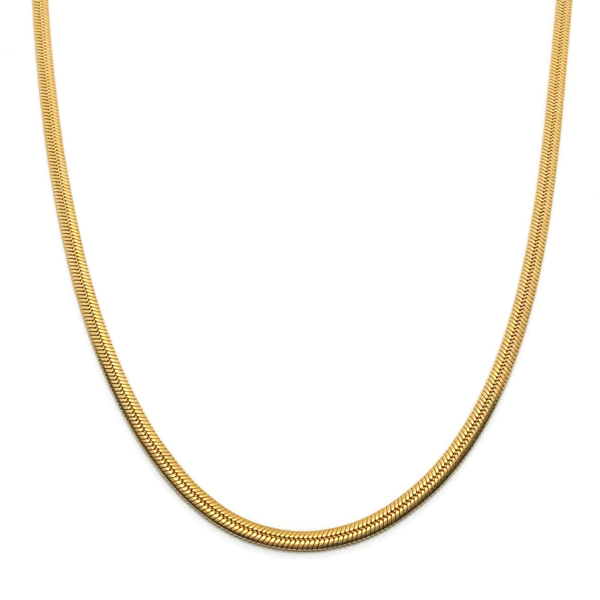 Demi Herringbone Necklace
