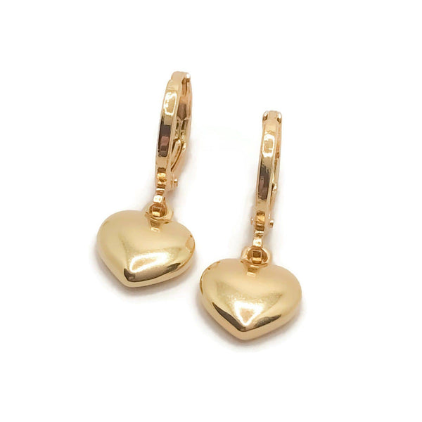 Have a Heart Hoops - Krave Jewelry Co - Bracelets Necklaces Earrings