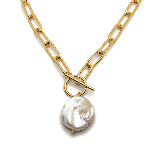 Thea Pearl Necklace
