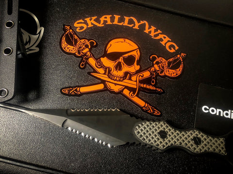 Skallywag Logo Decal