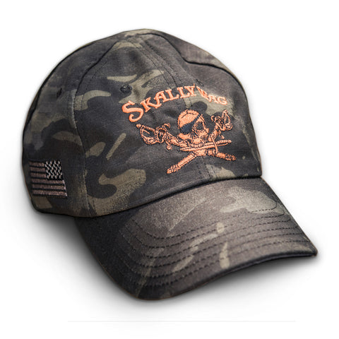 Black Camo Skallywag Hat