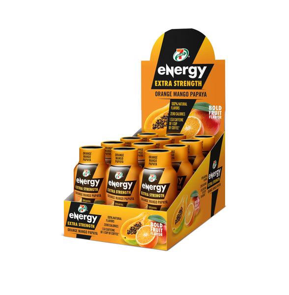 7-Select Extra Strength Energy Shot, 2-Ounce Bottles (Pack of 12)