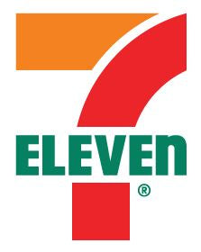 "7-Eleven Printed Towel, 30""x60"" Poly/Cotton Blend"
