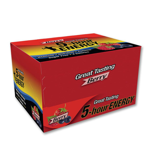 5 Hour Energy Shots, Berry, 12 Ct Box