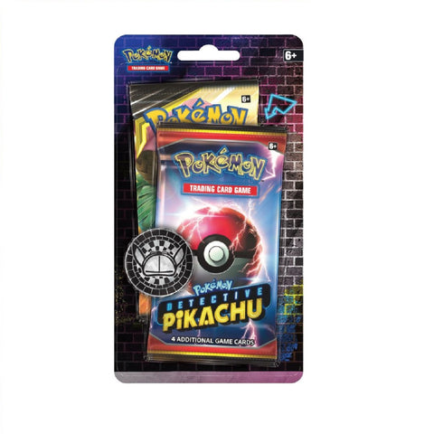 Pokemon TCG: Detective Pikachu Booster Pack + 1 Sun & Moon Booster Pack + A Metallic Coin
