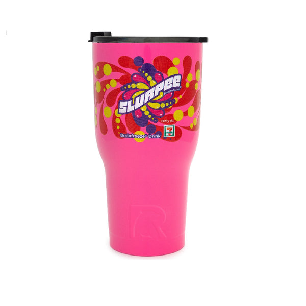 7-Eleven RTIC Slurpee & Big Gulp 30 oz. Double Wall Vacuum Insulated Stainless Steel Tumbler