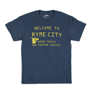 7-Eleven Exclusive Pokemon Ryme City T-Shirt
