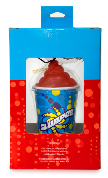 "Hallmark ""Slurpee of the Season"" 2018 Exclusive 7-Eleven Ornament"