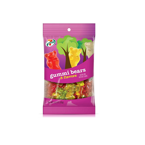 7-Select Gummi Bears, 4.25 oz, 6-Pack
