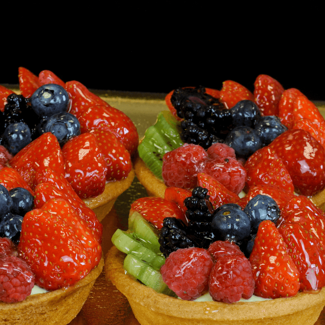 6 Fruit Tarts