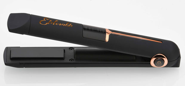 Mini Rechargeable Cordless USB Hair Straightener - Eldorable