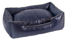 Load image into Gallery viewer, The Aspen Dog Bed, Navy Blue