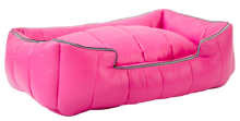 Load image into Gallery viewer, The Aspen Dog Bed, Dark Pink