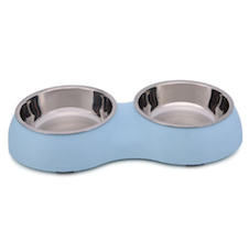 Blue Double Dog Bowl
