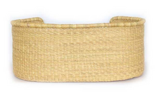 Load image into Gallery viewer, Woven Bolga Dog Bed, Natural