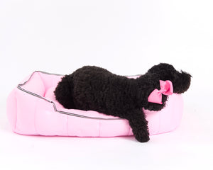 The Aspen Dog Bed, Light Pink