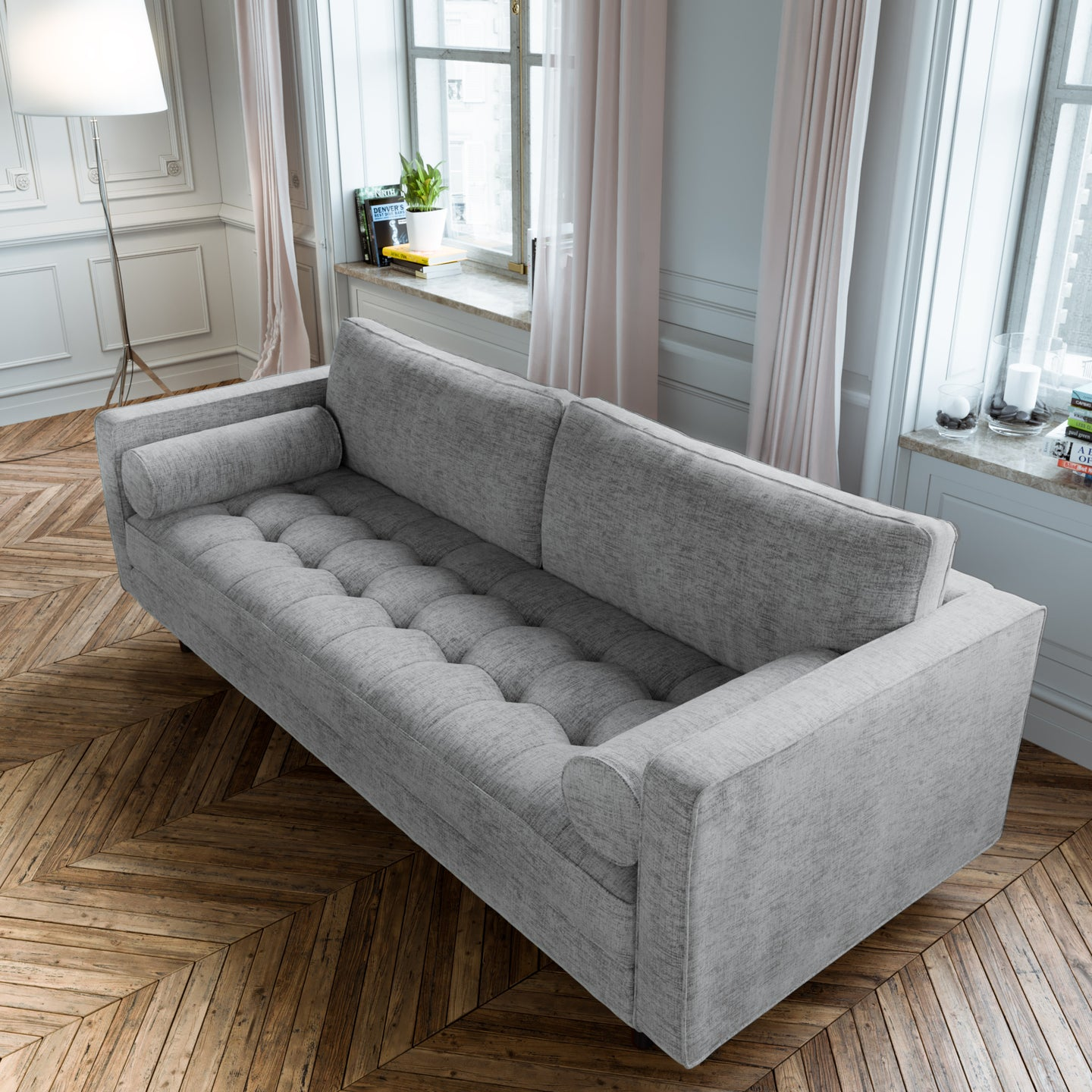 Scandormi Sofa - Grey Weave