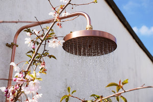 Outdoor - exterior copper shower Pinios