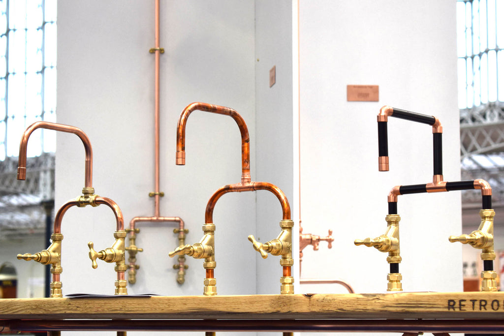 Proper Copper Design Copper Taps at 100% Design Show 2018