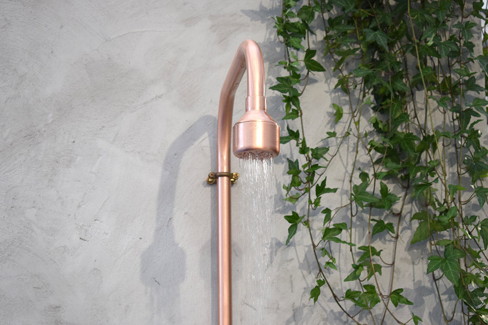Outdoor copper showing in action at 100% Design, Olympia London