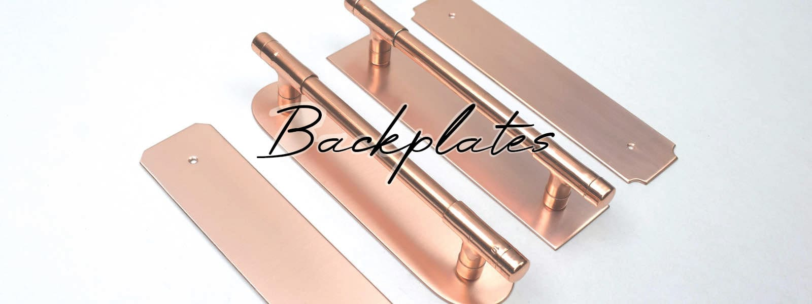Copper Backplates For Copper Handles and Pushplates