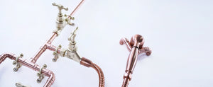 copper showers-handmade in Brighton UK-Proper Copper Design-copper bathrooms