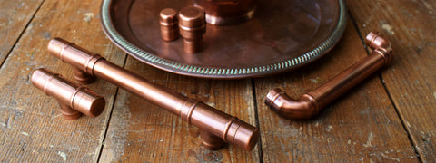 aged-copper-handles-pulls-knobs-kitchen-cabinets-doors-drawers-patina