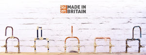 copper taps in finishes from aged, polished copper taps, made in UK banner