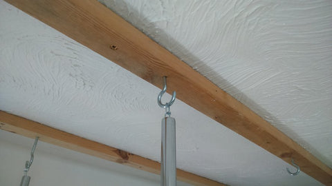 Ceiling hook image for the hanging rails