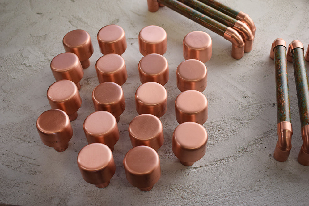 knobs copper