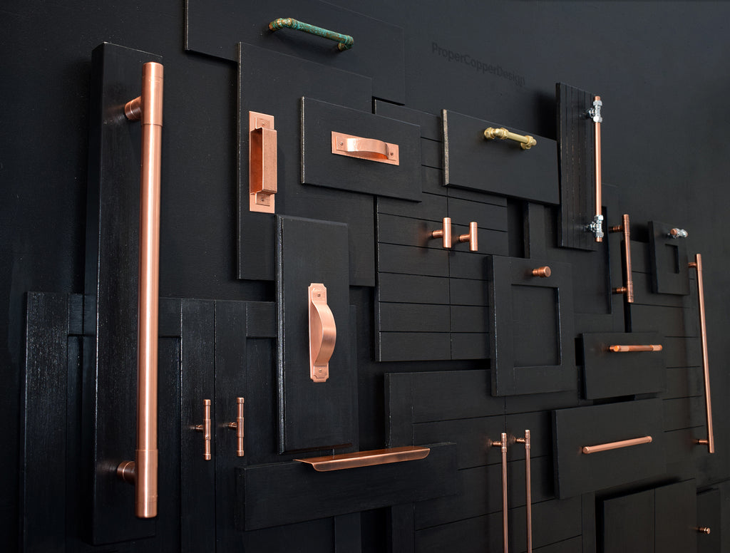 Copper handles (new releases)