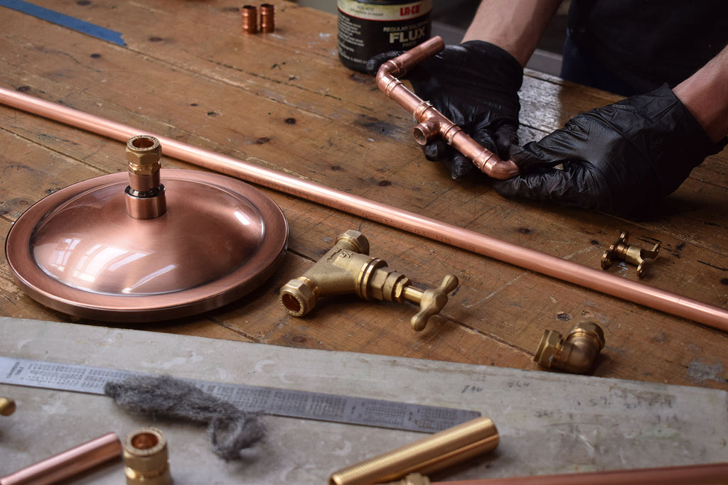 making copper taps in Brighton uk