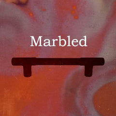 marbled finish button
