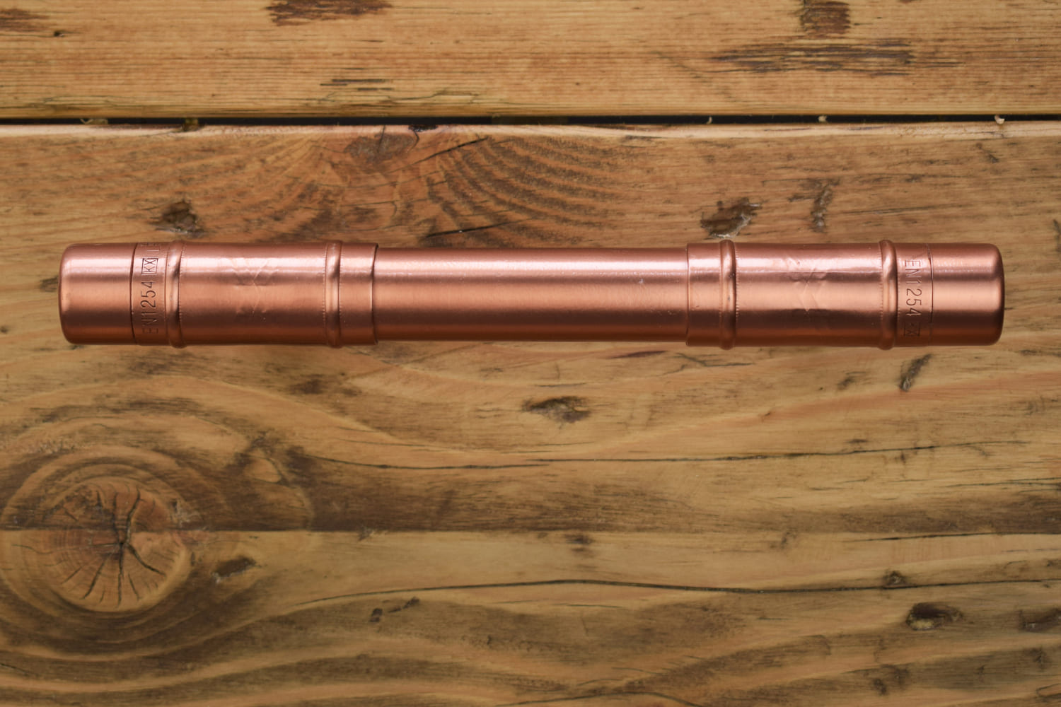 Proper Copper Design - Vintage Chunky Copper t Pull handle Cabinet Drawer Kitchen Handle Knob Pull
