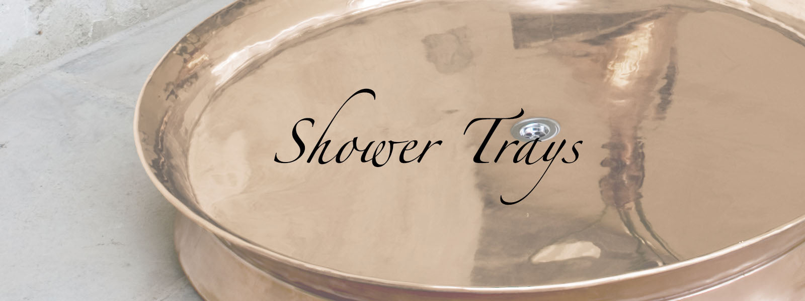 Copper Shower Trays