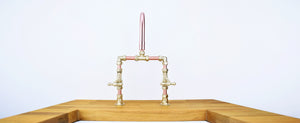 Copper Faucets-made in the UK-Proper Copper Design-pure copper and brass