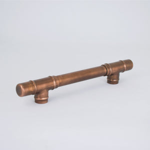 Copper Handle T-shaped - Aged - Proper Copper Design