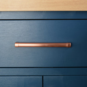 copper drawer pull-door handles