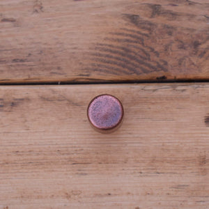 Aged Copper Raised Dimple Knob - Proper Copper Design