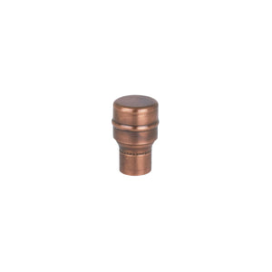 Copper Knob - Raised - Aged - Proper Copper Design