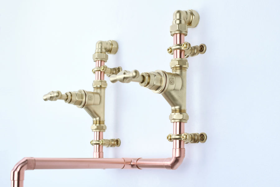 Copper Mixer Tap - Almendares - - Proper Copper Design