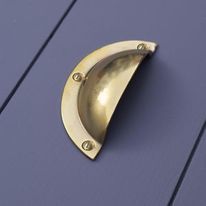 Brass Classic Cup Handle - Proper Copper Design