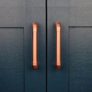 copper pull-proper copper design-drawer pulls-door pulls-copper pulls-copper handles-khan erkeksoy-knobs and pulls