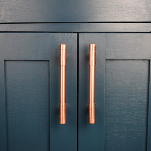 Copper Handle T-shaped Pull - Proper Copper Design
